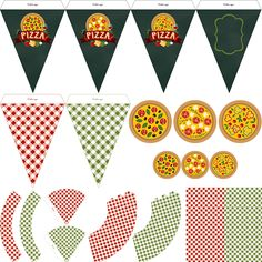 Pizza2545 Pizza Party Birthday, Birthday Parties, Mini Chef, Minecraft Coloring Pages, Food Decoration, Christmas Bags, Cooking Classes, Holidays And Events, Party Themes