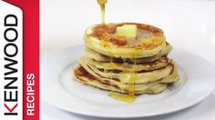 Learn how to prepare delicious pancakes with maple syrup using your Kenwood Kitchen Machine. For more information please visit the links below: MORE RECIPES . Maple Syrup Recipes, Kitchen Machine, Tasty Pancakes, Cooking Chef, Breakfast, Food, Youtube, Breakfast Cafe, Essen