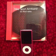 Nike sport armband for iPod nano This is a reposh.  Bought this for my husband who has a newer iPod which is not compatible.  Just asking for what I paid Nike Accessories Tablet Cases
