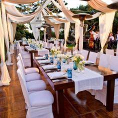 Breathtaking at-home wedding California.