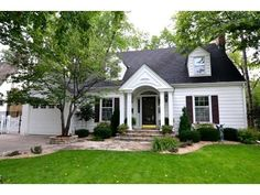 A traditional Cape Cod style home in Edina, MN.