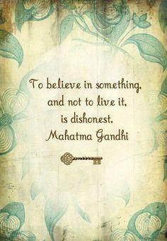Gandhi at his best.