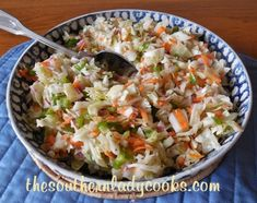 <p>This recipe for Old-Fashioned Ice Box Coleslaw has been around a long time. It is a tangy slaw that keeps in the refrigerator for up to a week and goes great with just about any meal as a side dish. I love making this to go with baked beans on the 4th of July but it is good for any holiday. Just the fact that it keeps up to a week is good because you have it on hand to go with sandwiches, hot dogs and burgers anytime. Each time I make this slaw I have forgotten how much we enjoy it and I…