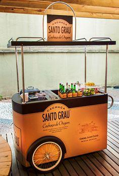 carrinho santo grau ... #MobileShops #FoodTrucks #Kiosks #Stalls
