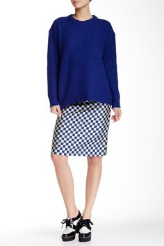 Check A-Line Skirt by Marc by Marc Jacobs on @HauteLook