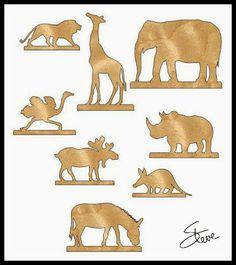 Scrollsaw Workshop: 36 Animal Shape Scroll Saw Patterns.