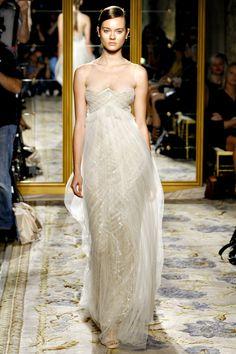 Marchesa S/S 2012   Model: Monika 'Jac' Jagaciak #serenity