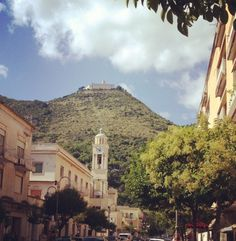 Downtown Cassino, Italy.