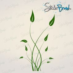 Vinyl Wall Decal Sticker Tall Grass 729 by Stickerbrand on Etsy, $49.95