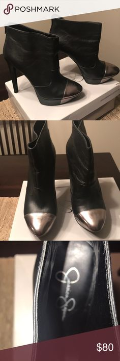 I just added this listing on Poshmark: Stiletto Ankle Boots. #shopmycloset #poshmark #fashion #shopping #style #forsale #Jessica Simpson #Shoes