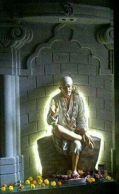 Black Hd Wallpaper Iphone, Sai Baba Hd Wallpaper, Sai Baba Pictures, God Pictures, Indian Saints, Shirdi Sai Baba Wallpapers, Lord Rama Images, Radha Krishna Love Quotes, Krishna Art