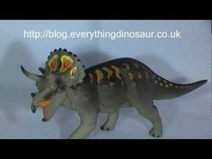 A Review of the Carnegie Collectibles Triceratops Dinosaur Model | @Everything Dinosaur