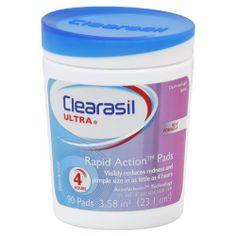 Clearasil Ultra Pore Cleansing Pads, 90 Count by Clearasil, http://www.amazon.com/dp/B0012MXUEI/ref=cm_sw_r_pi_dp_JZ3pqb0XDZ2SP