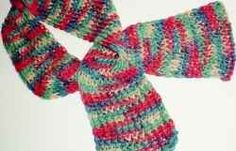 Spring Scarf in Jelly Bean Colors