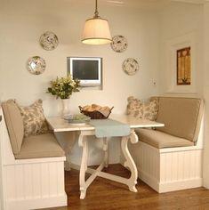 Clima de restaurante chique dentro de casas com esses sofás moderninhos!