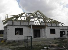 Więźba dachowa  #dach #projekt #dom