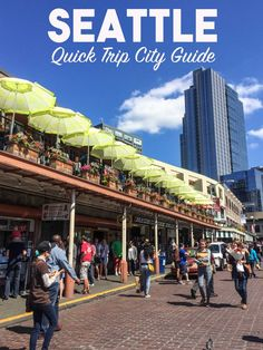 We explored Seattle in two days and fell in love with the seafood, fresh air & pier!
