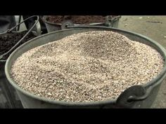 Video ~ Making your own potting soil is quick and easy. You'll not only save money, but you'll end up with a higher quality product than what you can buy at the store. Not to mention you'll know exactly what's in it - no chemical fertilizers, fillers and other things you don't want to be growing vegetables in.
