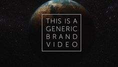 Generic Brand Video This journey through the semiotic landscape of marketing is beautiful, charming, insighting, brandful, burtational.
