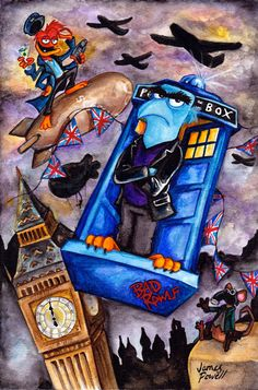 Doctor Who / Muppets Crossover