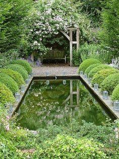 Garden Room. by fotobuc on Flickr.. #Reflect / Magic Garden <3