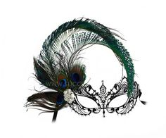 Persuasion Black Women/'s Masquerade Mask A-0774B-E