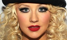 burlesque makeup | Ju Bernal: Make Up Music - Christina Aguilera