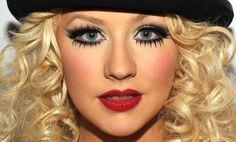 burlesque makeup | Ju Bernal: Make Up Music - Christina Aguilera