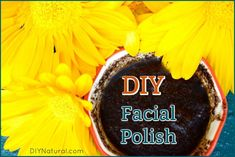 This gentle & effective DIY Face Polish leaves skin feeling fresh and rejuvenated, not red, flaky, or overly dry. It's my favorite way to get glowing skin! Homemade Scrub, Homemade Facials, Homemade Soaps, Face Polish, Natural Exfoliant, Polish Recipes, Lemon Essential Oils, Homemade Beauty Products, Beauty Recipe