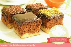 Receitas de Marcas Famosas: Bolo Cremoso de Chocolate com Coco