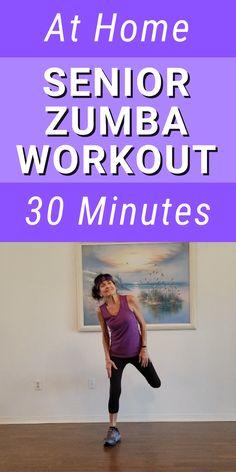 Zumba Fitness, Fitness Workouts, Fitness Workout For Women, Senior Fitness, Easy Workouts, Fitness Diet, At Home Workouts, Senior Workout, Zumba Workouts
