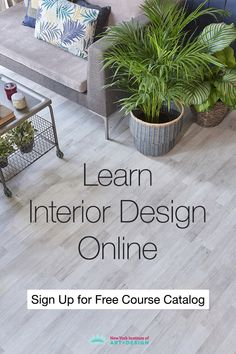 Learn interior design and interior decorating. NYIAD's interior design course allows you to learn at home. Interior Design Courses Online, Interior Design Classes, Interior Design Colleges, Free Interior Design, Interior Design Guidelines, Course Catalog, Importance Of Time Management, New York Art, Free Courses