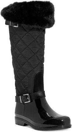 MICHAEL Michael Kors Fulton Quilted Rain Boots