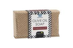 Mini welle 85gr.Greek Horizons Quality products Olive Oil Soap, Pomegranate, Mini, Waves, Granada, Pomegranates