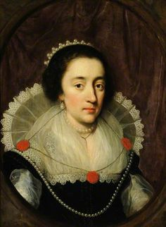 Portrait of an Unknown Lady by Daniel Mytens (style of) Collection: National Trust