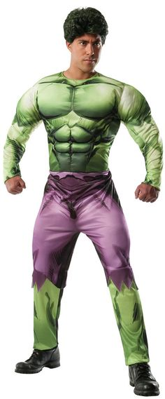 Marvel Classic Deluxe Hulk Adult Costume