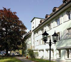 VCH-Hotel Gästehaus Nidelbad, Rüschlikon bei Zürich, Zürichsee, Schweiz / Switzerland. www.vch.ch/nidelbad/