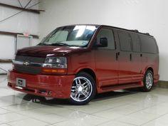 Chevrolet Express low top Southern Comfort Conversion Van tv dvd Tow Cars in Houston TX. Rat Rods, Sleeper Van, Vans Usa, Jeep, Low Top Vans, Gmc Vans, Astro Van, Chevy Express, Chevy Nomad