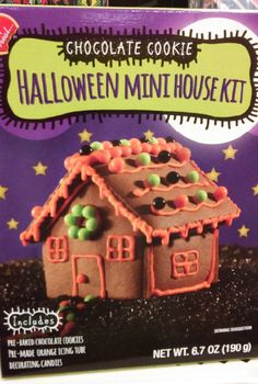 chocolate cookie halloween mini house kit halloween gingerbread