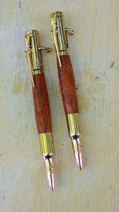 Bolt-Action Pen and Pencil Set