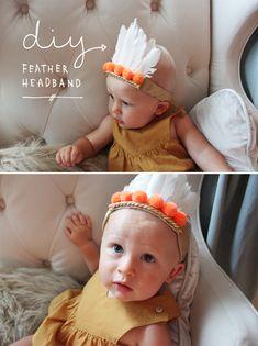 DIY feather headband_Ry