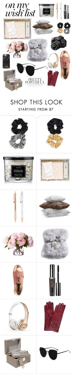 """""""#PolyPresents: Wish List"""" by trysie ❤ liked on Polyvore featuring Berry, Avon, Hudson Park, Nikon, Nicole Miller, Benefit, Tory Burch, Smythson, contestentry and polyPresents"""