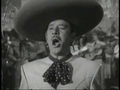 "PEDRO INFANTE canta ""MALDITA SEA MI SUERTE"" (1952)"