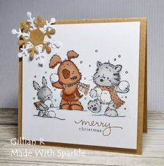 Made With Sparkle: Christmas Critters