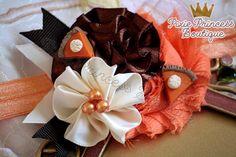 Pie, Please} Headband, Baby Headband, Photography Prop, Couture Headband, Thanksgiving Headband, Pumpkin Pie Headband, Fall Headband