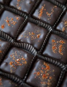 Chocolate . . . try just a pinch of sea salt and place the chocolate upside-down in your mouth. Fabulous!
