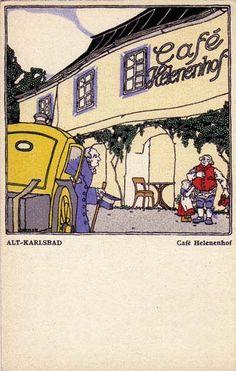 214. Leopold Drexler - Wiener Werkstatte postcard
