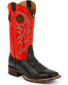 Nocona Legacy Cowboy Boots - Square Toe