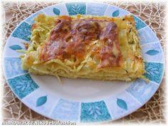VYNIKAJÍCÍ CUKETOVÉ LASAGNE jednoduché bez vaření bešamelu a vhodné i pro batolata. Ethnic Recipes, Lasagna