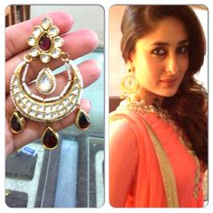 Stunning Chand balis. This design is loved by the celebs too! Exclusively available at CBSN Talwar jewellers, New Delhi-India. For queries, Contact: info@talwarjewellers.in | call: +91 11-45012629 | Whatsapp/Wechat/Line: +91 9811009833